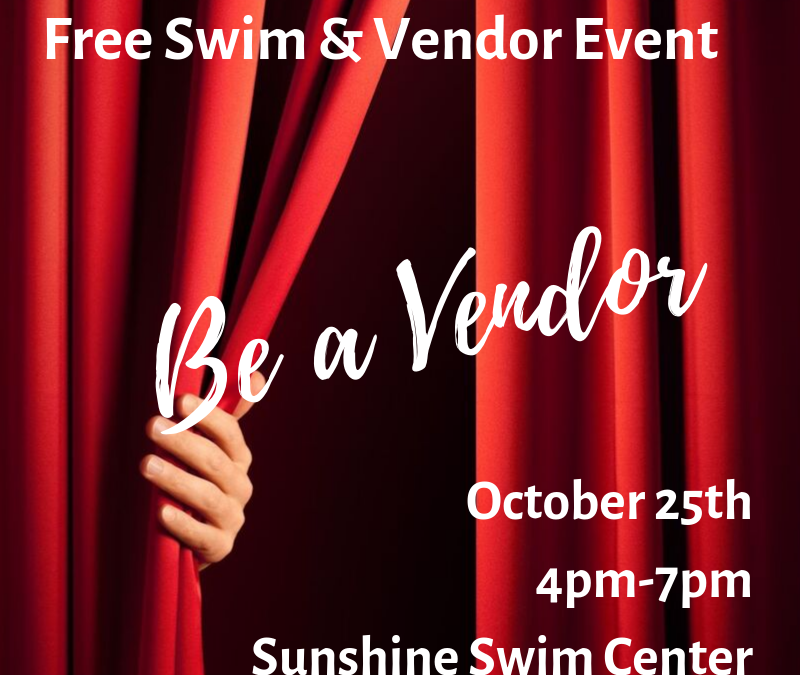 Free Swim and Vendor Event